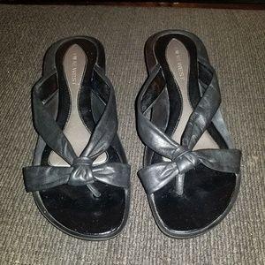 NINE WEST sandals 6.5 Black
